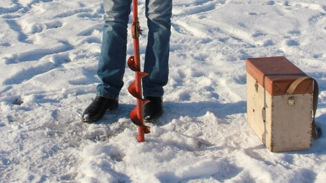 Спасатели сообщили о безопасном льде на Воронежском водохранилище