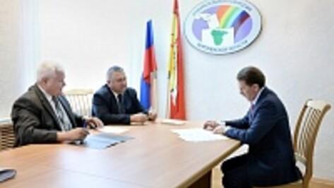 Алексей Гордеев стал первым кандидатом на пост губернатора Воронежской области