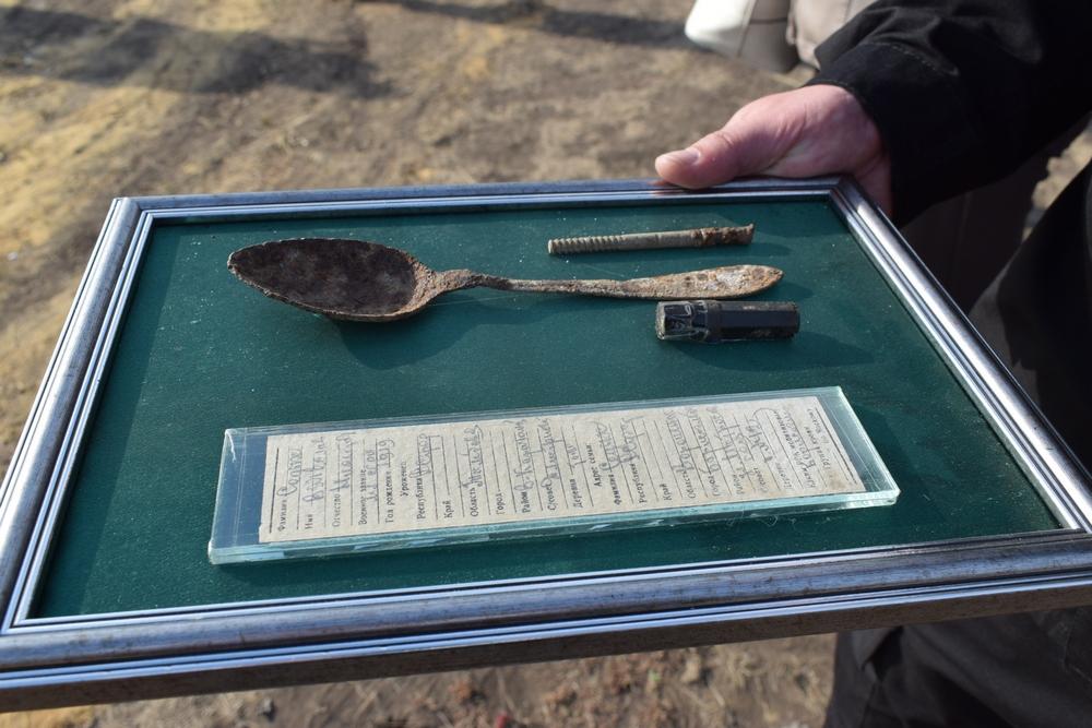 Личные вещи Вячеслава Седых передали в районный краеведческий музей.