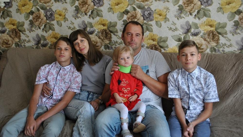 Семья Михненко.