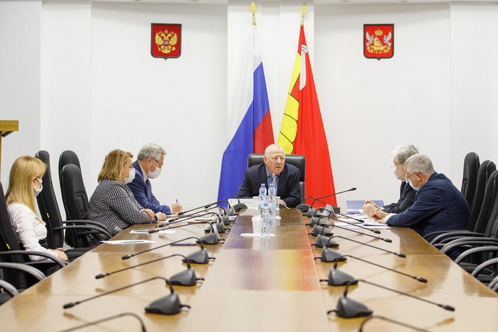 Рабочая встреча в Воронежской областной думе