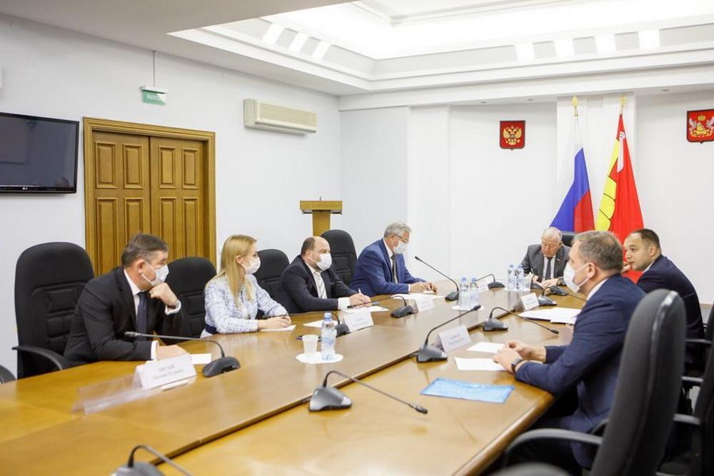 Совещание в Воронежской областной думе
