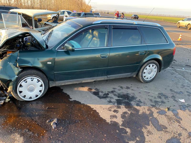 Audi получила меньше повреждений