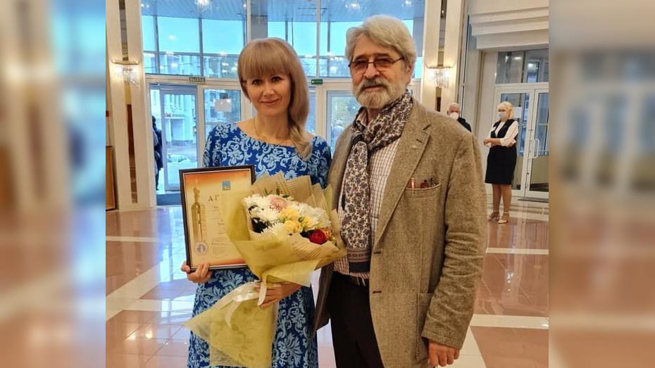 Тамара с народным художником РФ Геннадием Праваторовым.