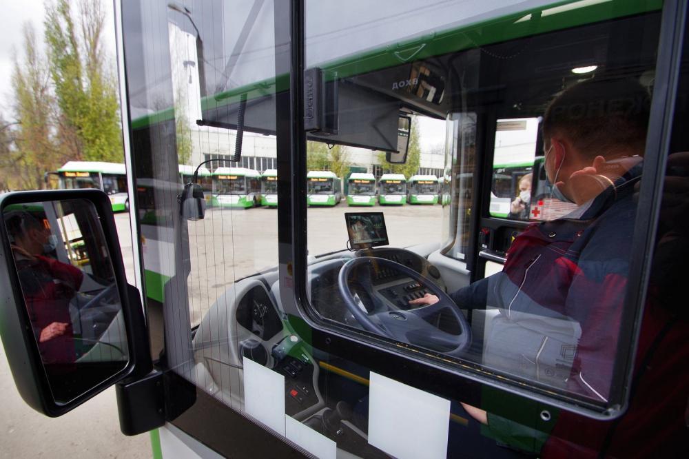 Панель приборов автобуса ЛИАЗ
