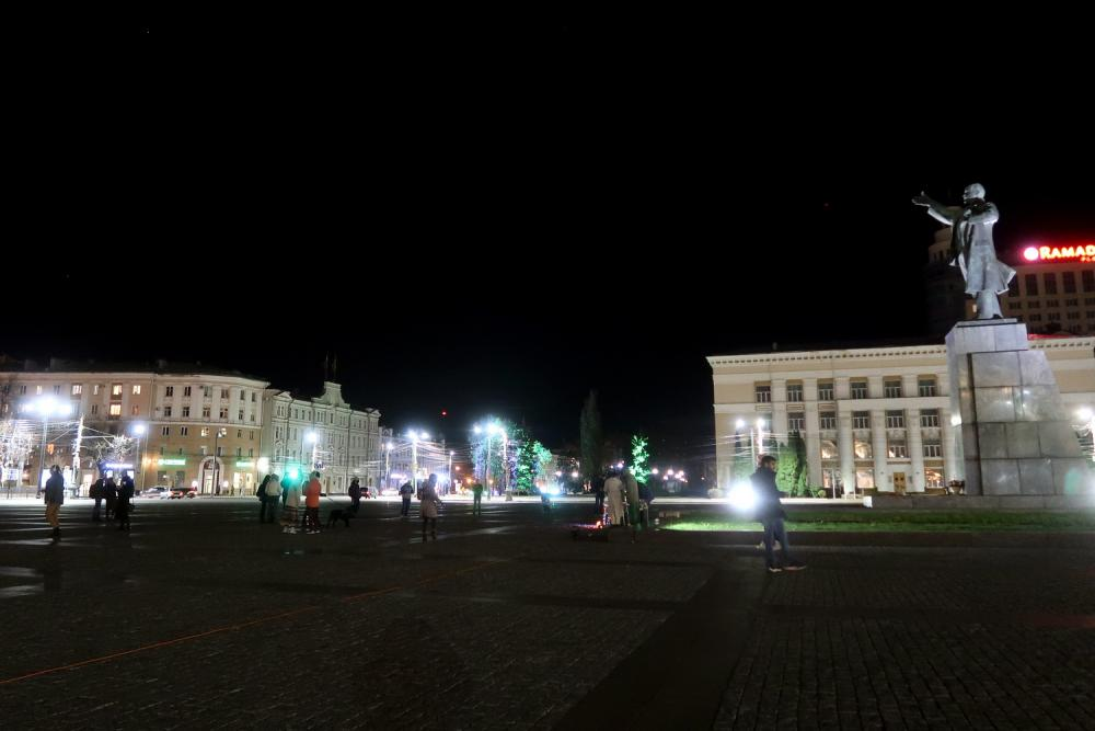 Беззвучный рейв в Воронеже