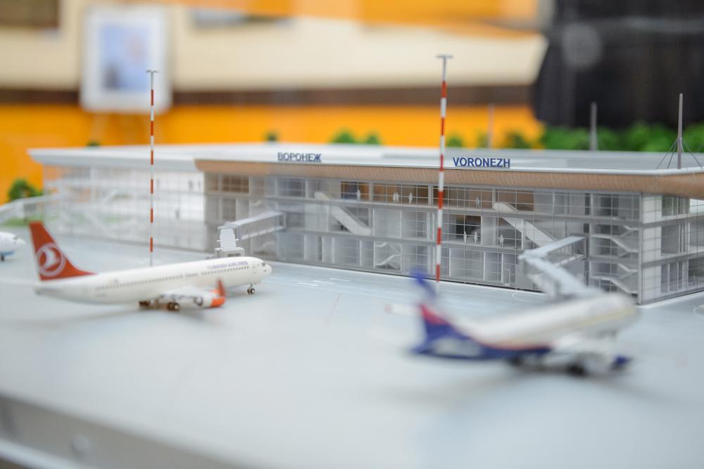 Аэровокзал Воронеж – реконструкция