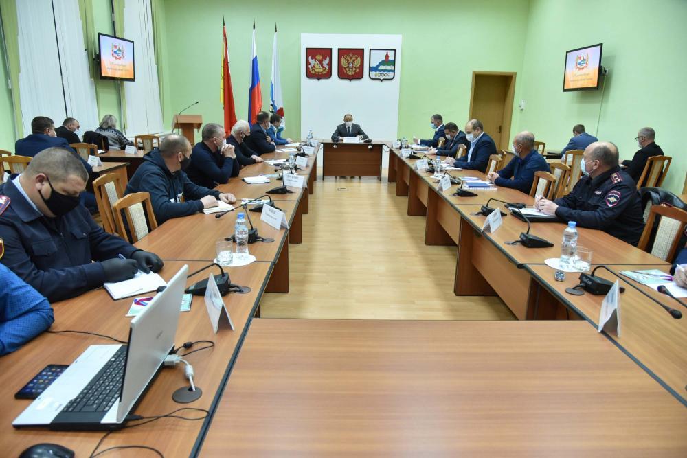 Совещание в Калаче с вице-губернатором