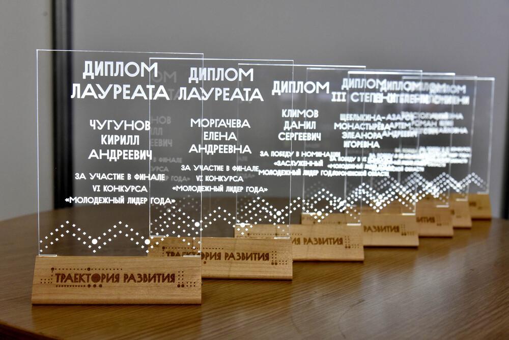 Диплом молодежного лидера года