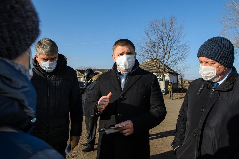 Артем Верховцев посетил Павловский район по поручению губернатора