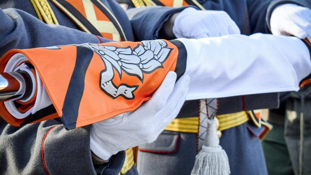 День обретения собственного Боевого знамени – уже второй в истории гарнизона