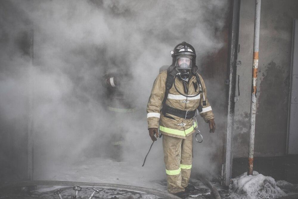 Пожар на улице Чапаева в 2015 году