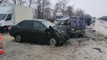 ДТП с пострадавшими ВАЗ-2104 «Лада Гранта»