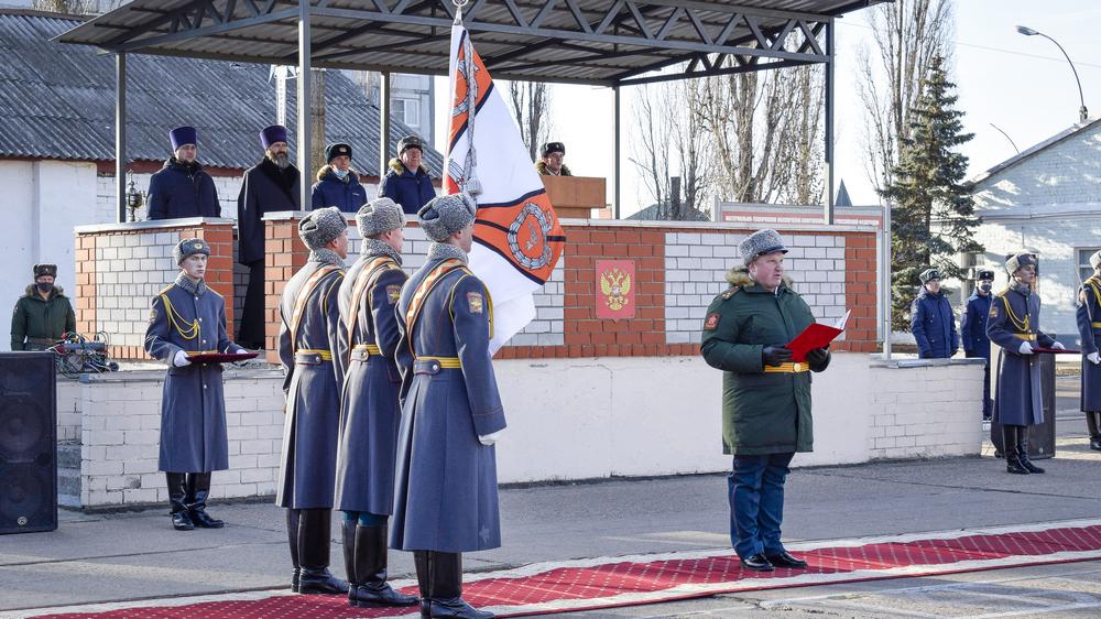 Торжественную церемонию приурочили к годовщине со дня создания подразделения