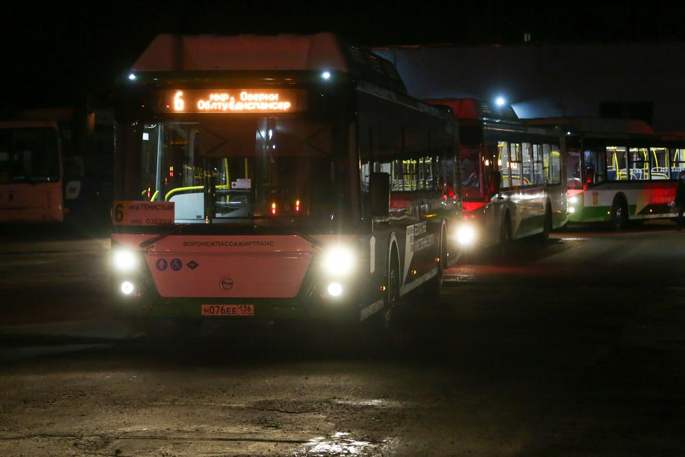 Новые автобусы вышли на линию