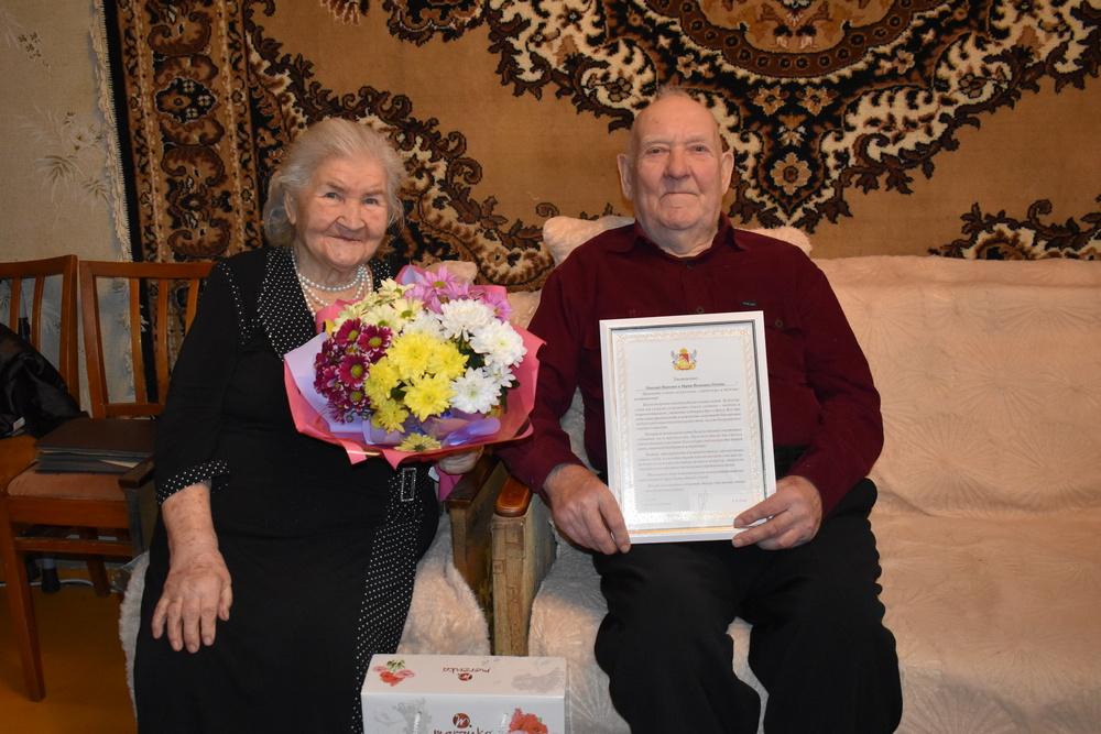 Супруги Поповы вместе 70 лет.