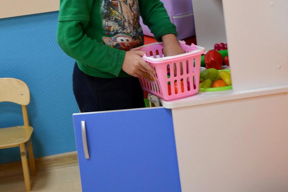 Детские уголки в каширской поликлинике