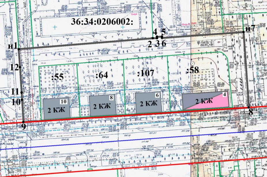 Схема территории с сайта мэрии Воронежа