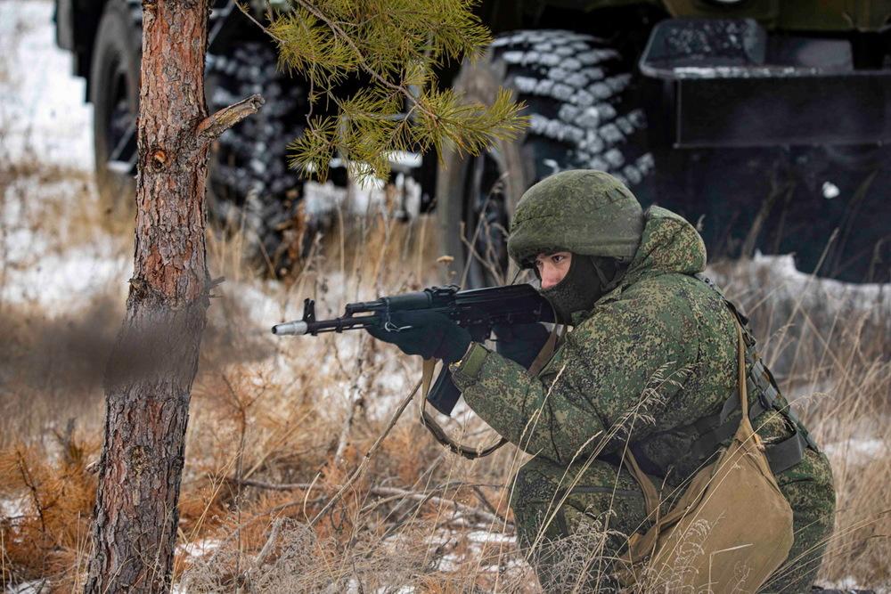 Учения военных в Воронежской области