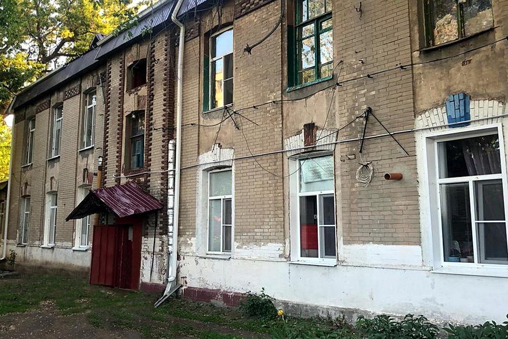 В Воронежской области обновили дореволюционный дом