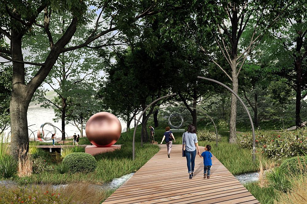 Фото– проект благоустройства парка «Горки»