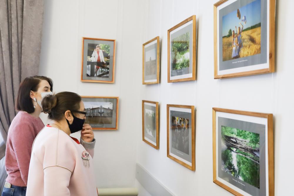 Выставка будет работать до конца марта.