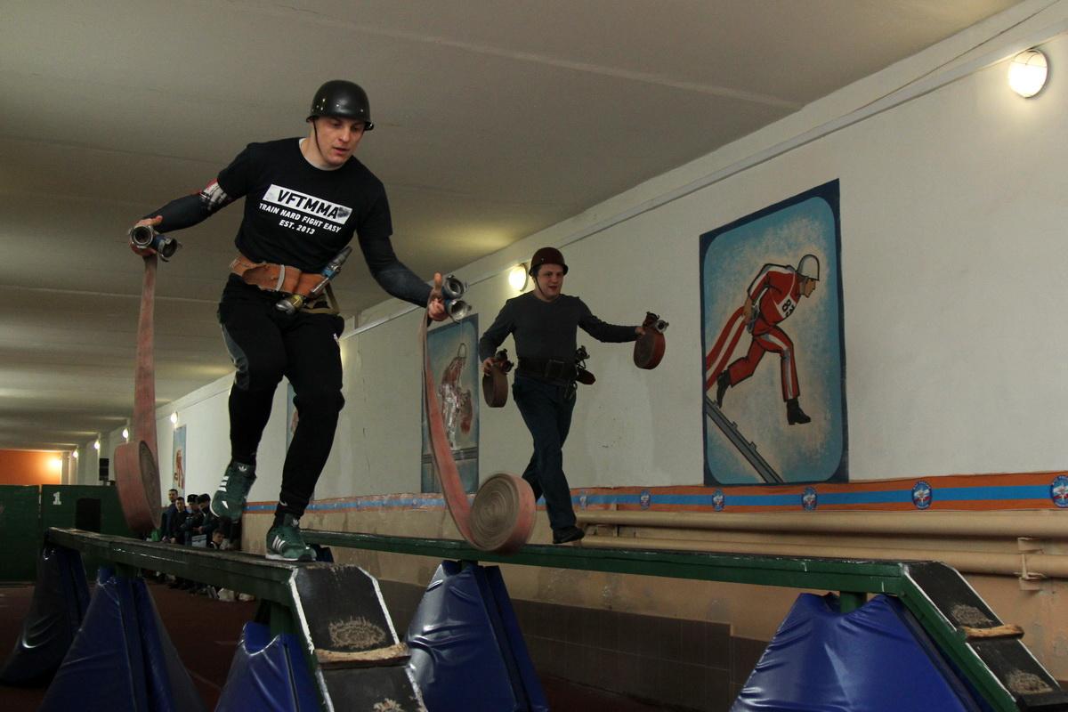 Первенство по пожарно-прикладному спорту в Воронеже
