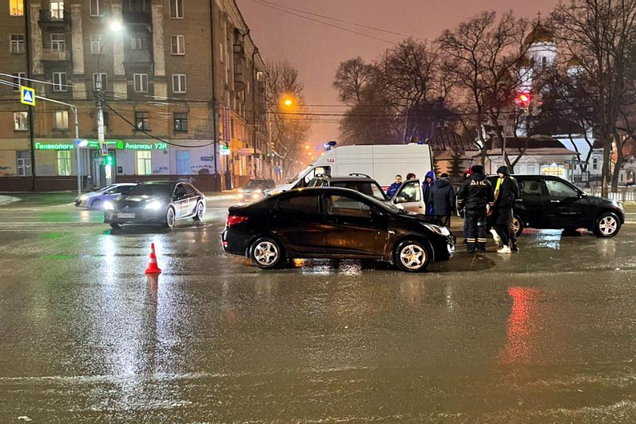 Смертельное ДТП в центре Воронежа