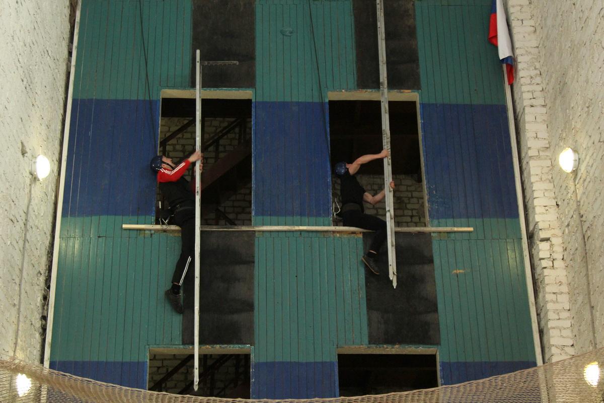Соревнования пожарных в Воронеже