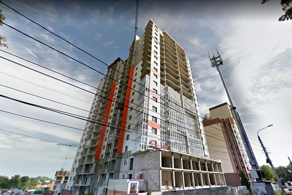 На онлайн-картах здание еще на стадии постройки. Скриншот с google.com/maps