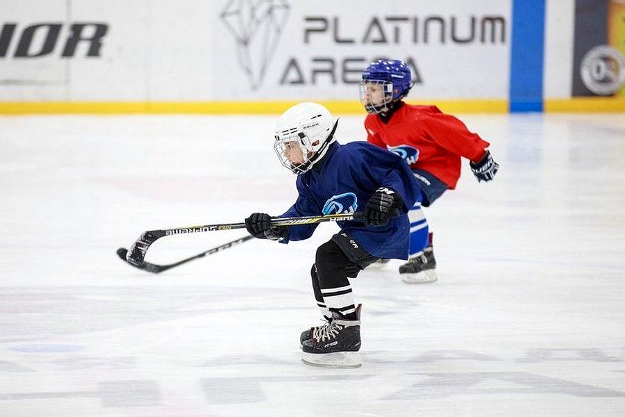 Юные воронежские хоккеисты