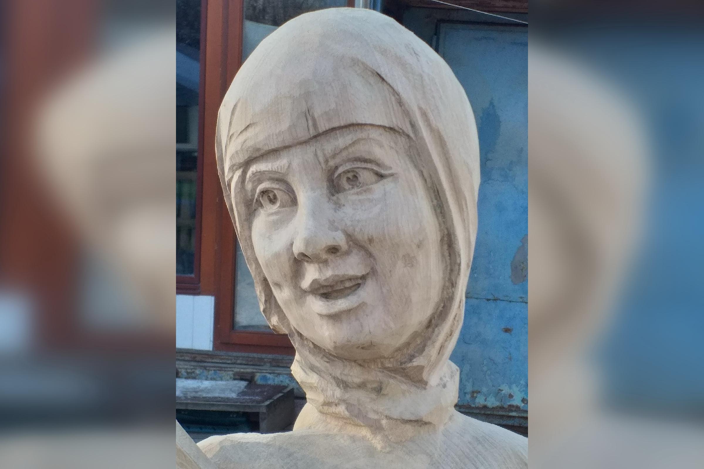 Воронежцы не считают деревянную Аленку страшной