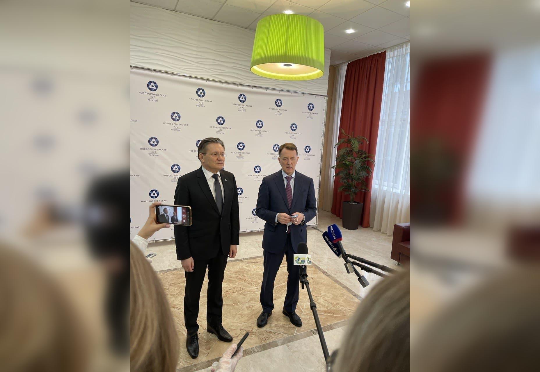 Алексей Гордеев и Алексей Лихачев