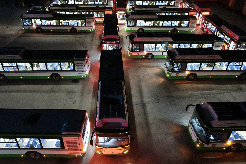 Воронеж получил еще 28 автобусов