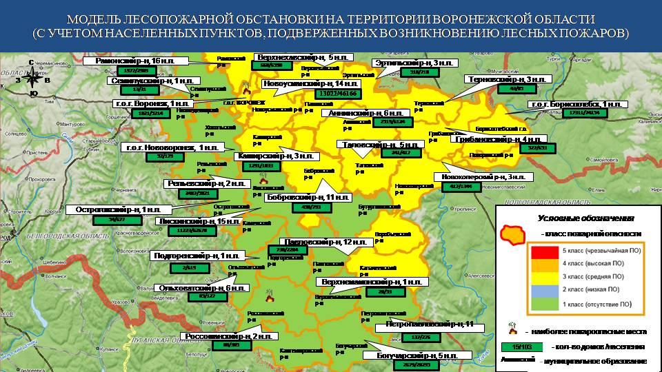 Информация ГУ МЧС по Воронежской области