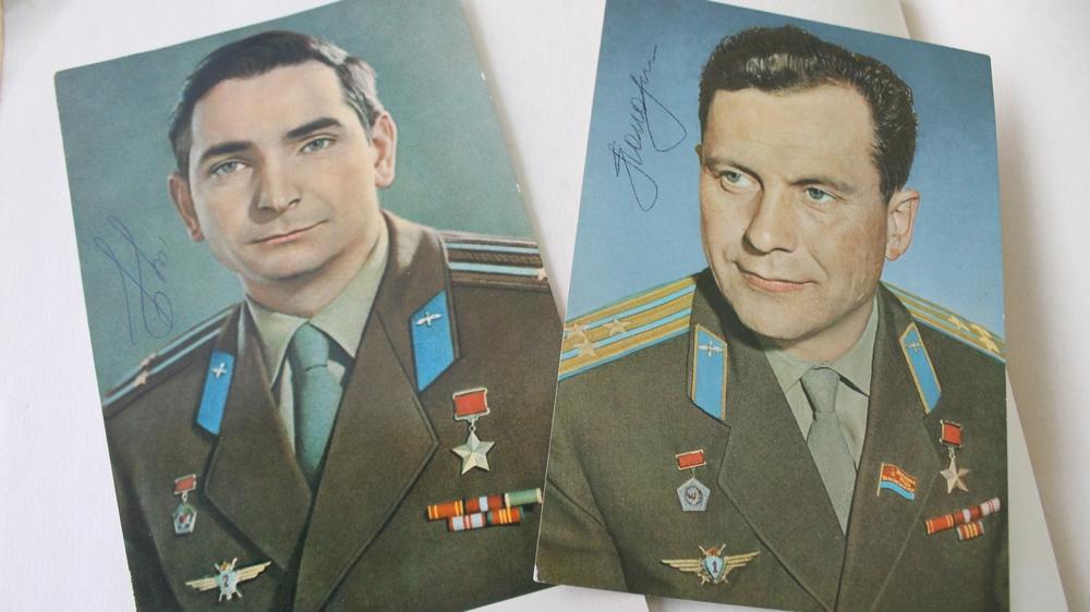Валерий Быковский и Павел Попович