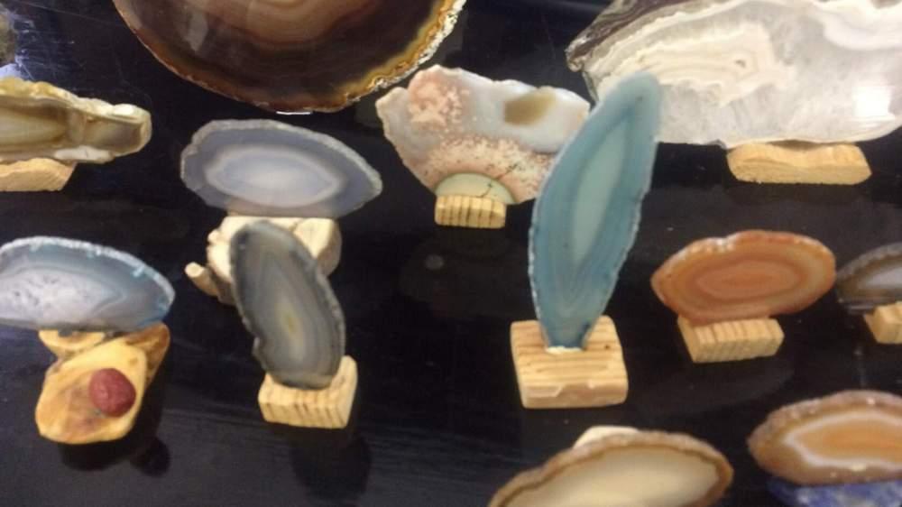 В коллекции более ста минералов
