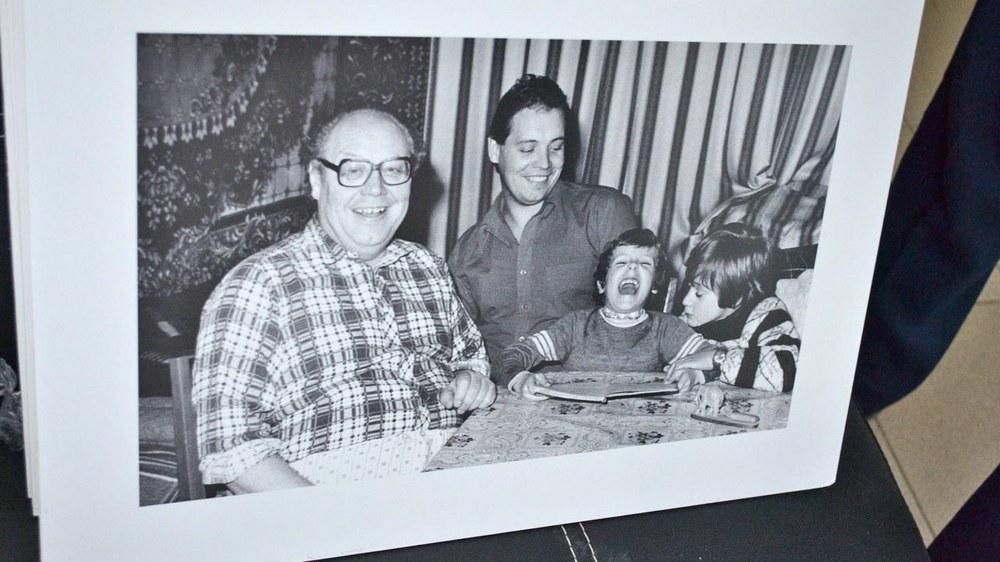 Леонид Болдин в кругу семьи