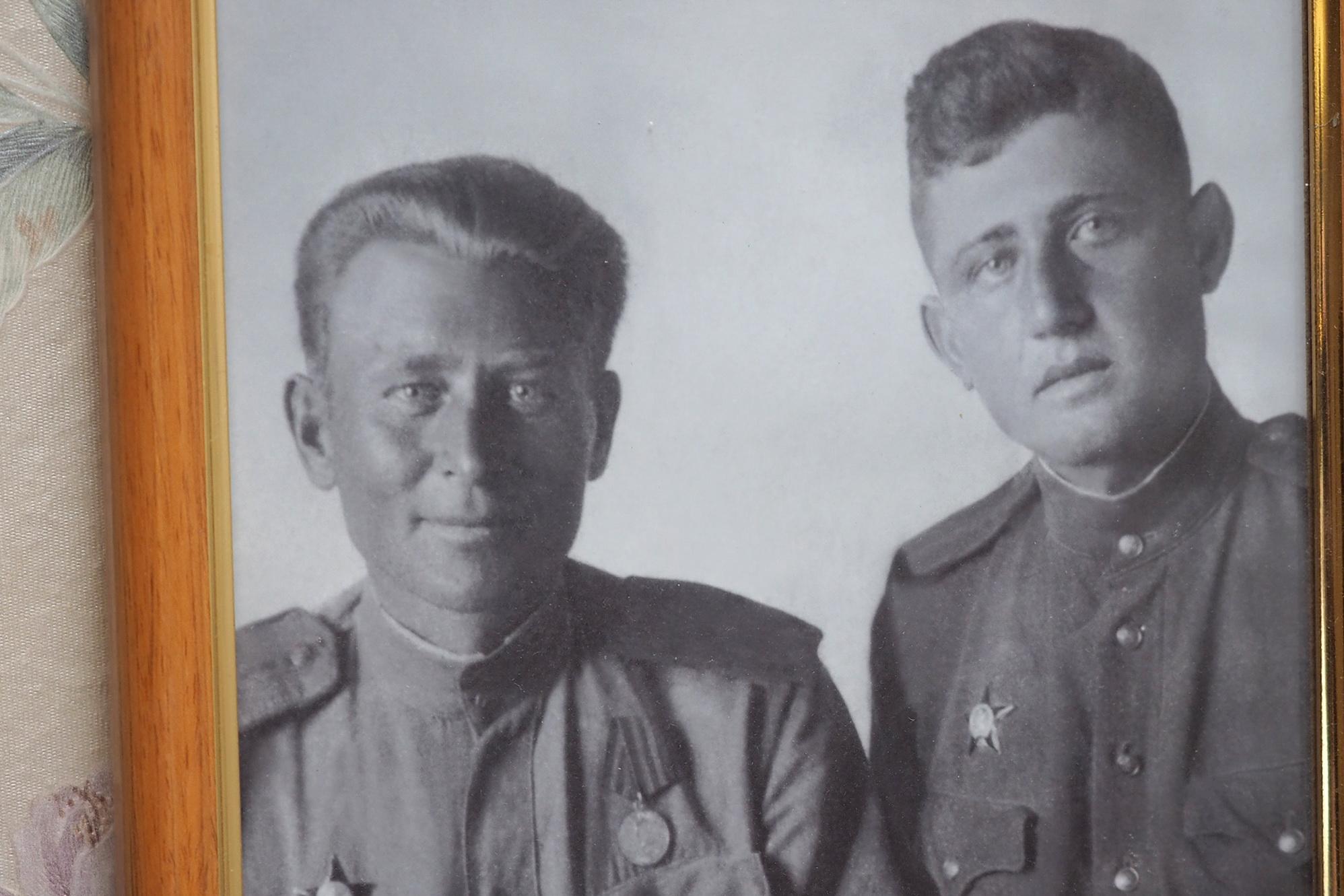 Семен Рудин – справа