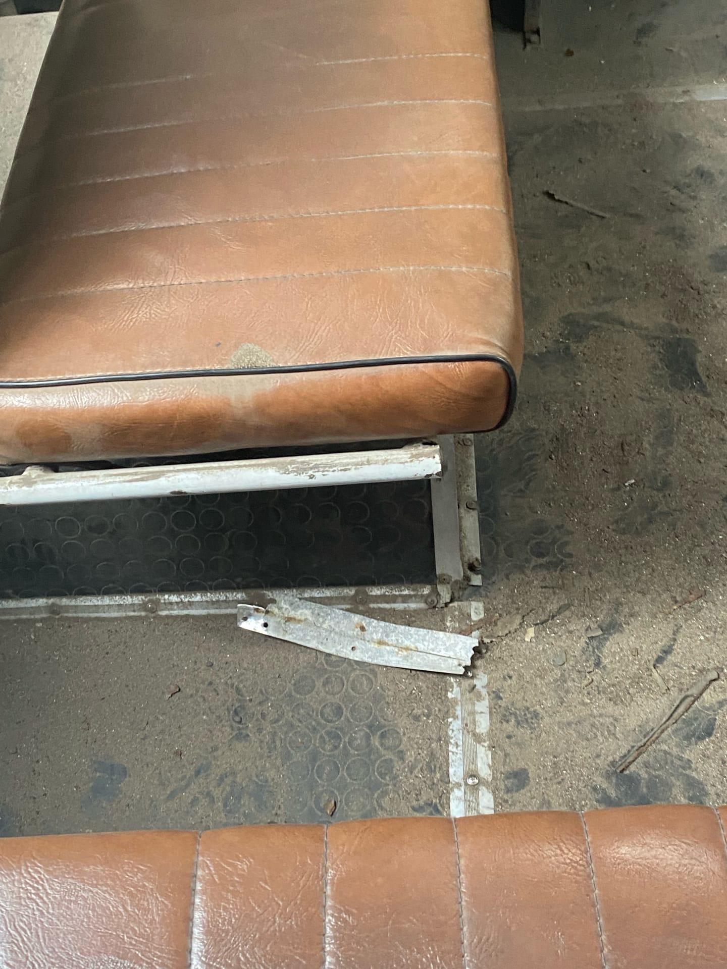 Взорвалось колесо у рейсового автобуса под Воронежем
