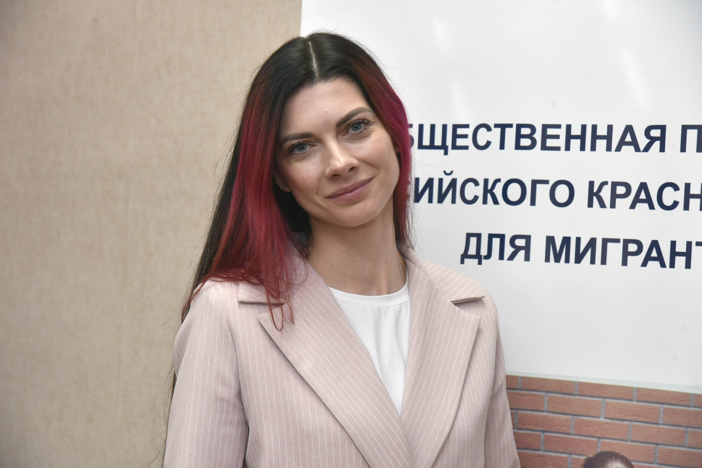 представитель воронежского Красного Креста Татьяна Дронова