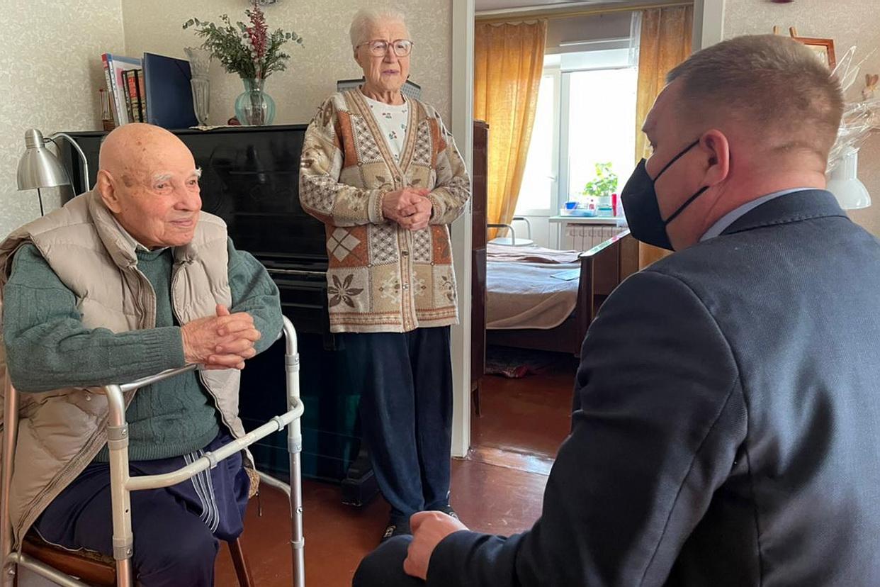 ОНФ навещает воронежских ветеранов