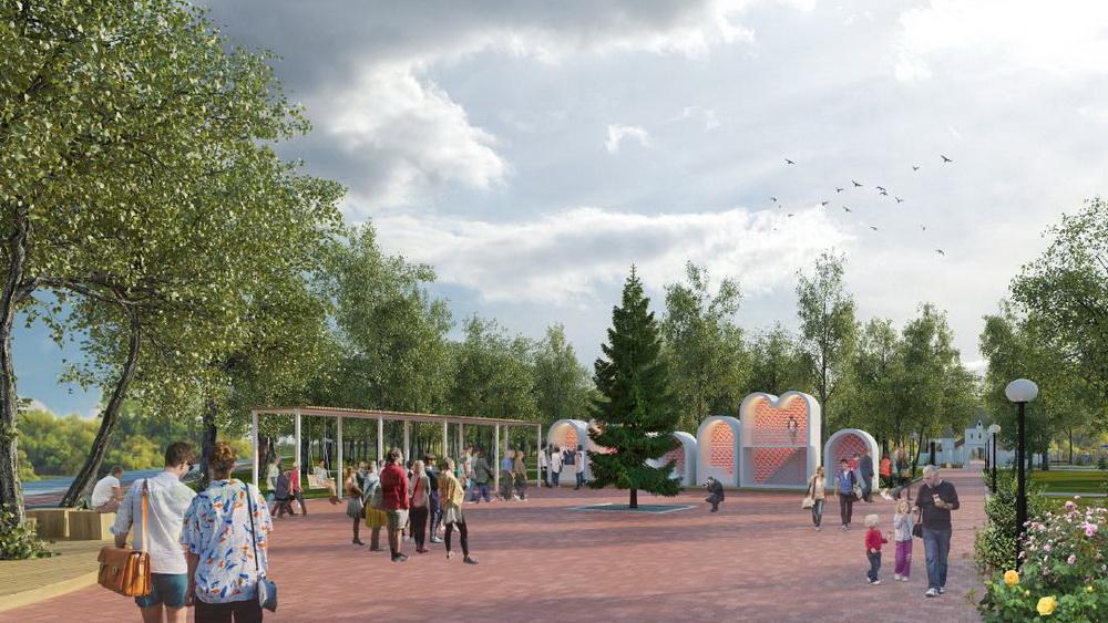 «Культурная сцепка: Концепция благоустройства Парка Победы»