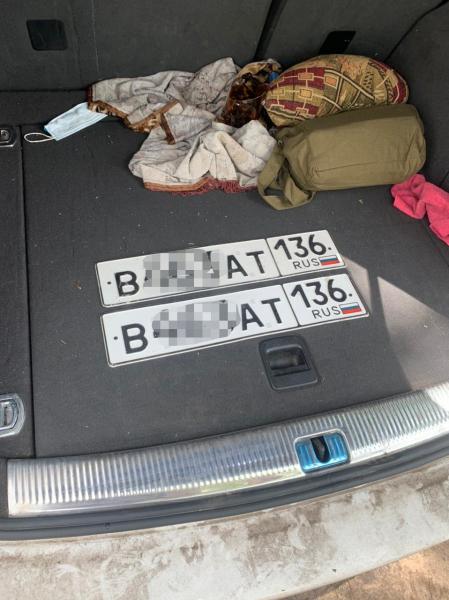 Подложные номера нашли у водителя Audi Q5 в Воронеже