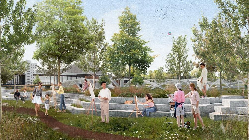 «Бетонные сады Острогожска». Ревитализация территории парка в Северном микрорайоне