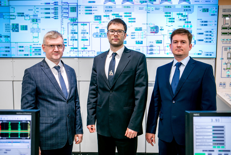 Максим Тучков, Александр Тихонов, Петр Поваров (слева направо)