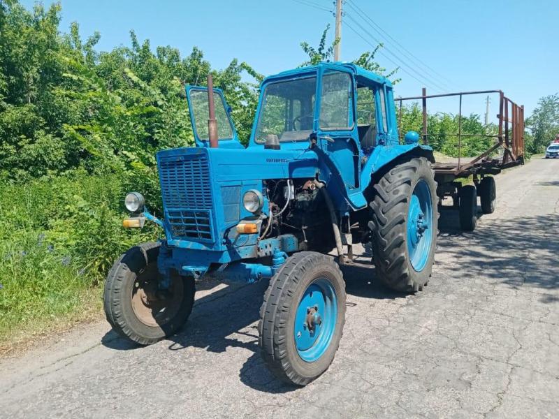 Авария с трактором в Воронежской области