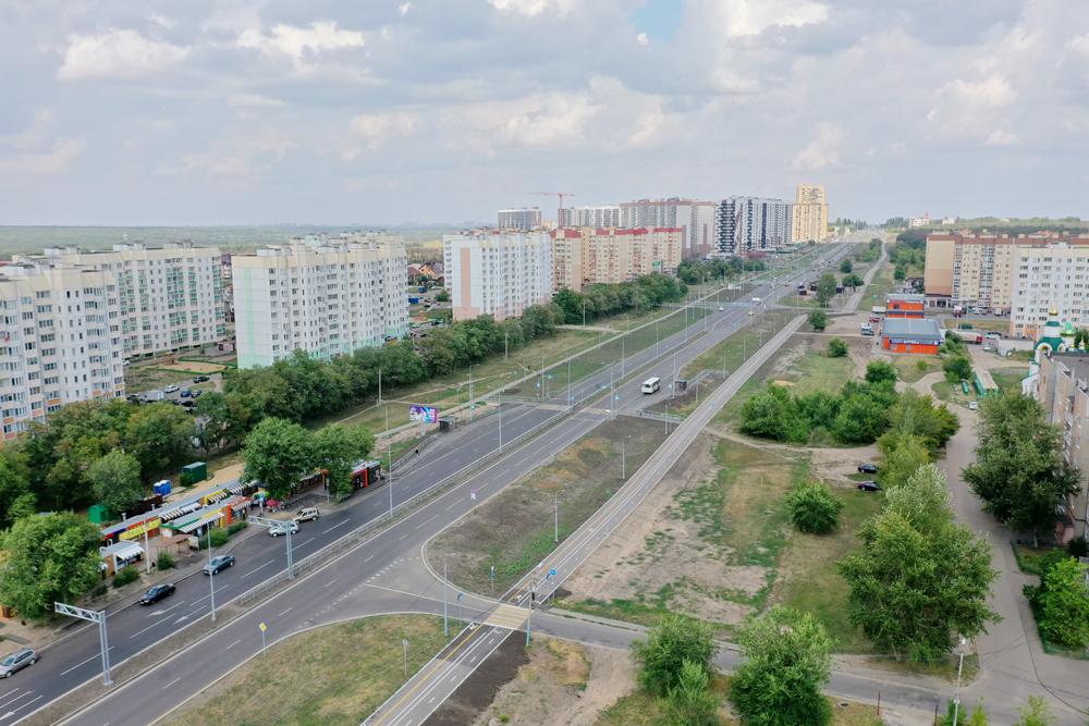 велодорожка в микрорайоне Шилово