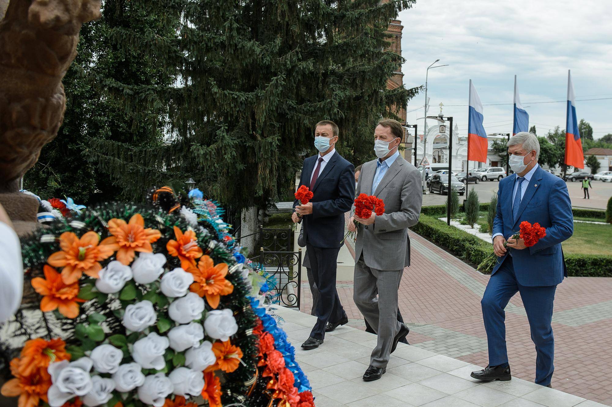 Фото – пресс-центр правительства Воронежской области