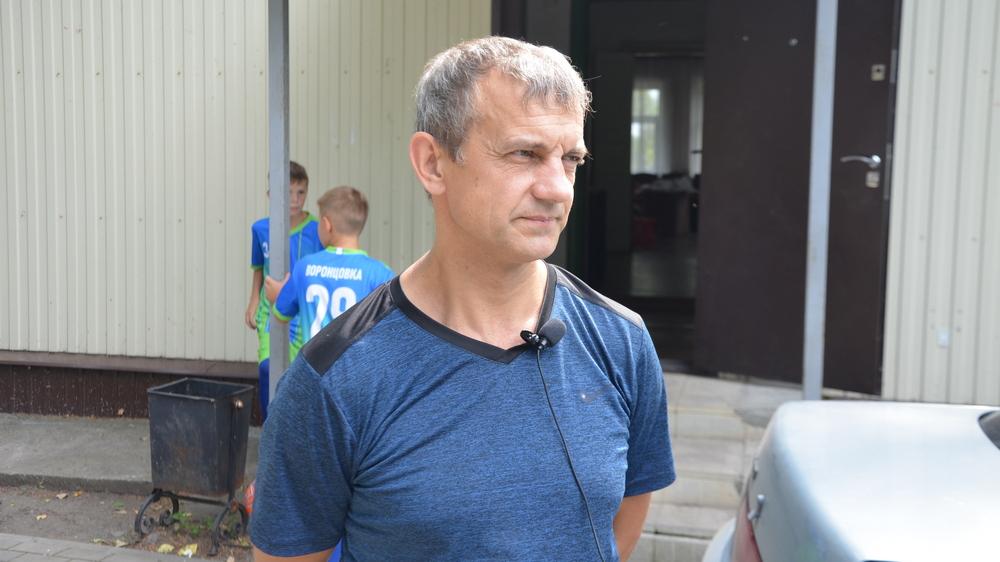 Инструктор по спорту администрации Воронцовского сельского поселения Александр Апасов